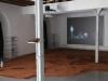 Te imaginas (Tu imagines), 2016, faïence rouge crue, bronze, mangue, tabourets, tissu, ventilateur, canne à pêche, leurre, bouteille d'eau en plastique, dimensions variables.  Vidéo HD, couleur, son monophonique, 4'54'' https://vimeo.com/184974860.  Dans le cadre du Prix de la Fondation Renaud, ENSBA Lyon, Lyon, France