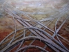 Hiver, 2006, aquarelle sur papier, 112,5 x 77,5 cm