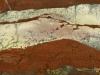 Impressions minérales - Intermonde, 2016, impression numérique jet d'encre sur papier Hahnemuhle 308 g, Dibond contrecollé sur aluminium, verre antireflet, cadre érable laqué blanc, diptyque 48,5 x 112 cm chaque, pièces uniques + 1 EA