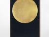 Pantokrator, bois, levka, peinture, feuilles d'or, 60 x 30 cm, pièce unique
