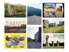 48 Posctards, 2016, 48 cartes postales fictives, papier, 10 x 15 cm chaque, présentoir métal, dimensions variables, installation unique , série de cartes postales