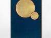 Vierge à l'enfant, en cours de production, bois, levka, peinture, feuilles d'or, 40 x 30 cm, édition de 3 + 1 EA
