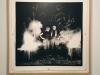 Montanitas ZVTN, 2017, analog photography black and white on baryta paper, 120 x 120 cm, oak framed, gun cartridges, edition of 3 + 2 AP. Production Le Grand Café - centre d'art contemporain, Saint Nazaire, France