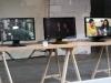 24 Hours, 2009, vidéo 3 canaux, texte. Commandé par et présenté à Now Wha', Space Hamilton, Séoul, Corée du Sud, 2009