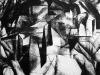 Un et trois peintures, 2015, acrylic on paper, 75 x 100 cm, unique piece