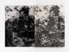 Complices de todo, 2012, diptych. Ink and acrylic on paper, 70 x 50 cm each one, uniques pieces. Photo © Aurélien Mole
