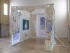 Neurone Miroir, 2017, latex, cire, plâtre, photographie, dimensions variables, pièces uniques