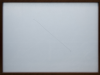 Two-Lines, 2016, pencil drawing on tracing paper, two glasses, walnut wooden frame, 29.7 x 42 cm, unique pieces