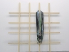 Chloé Dugit-Gros, Peinture Vaudoo, 2008, bois et caoutchouc, 200 x 200 cm, pièce unique, Courtesy galerie Dohyang Lee