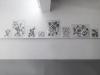 BioGraphies, 2018, série de 9 dessins, encre sur papier, dimensions variables, pièces uniques. Photo © Aurélien Mole